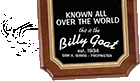 Billy Goat Tavern menu