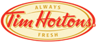 Tim Hortons menu